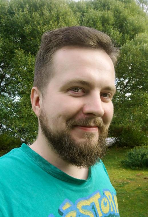 A portrait photography of Jakub Wisz.